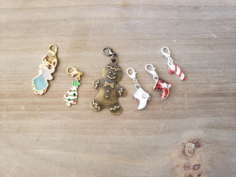 Christmas Stitch Marker Set