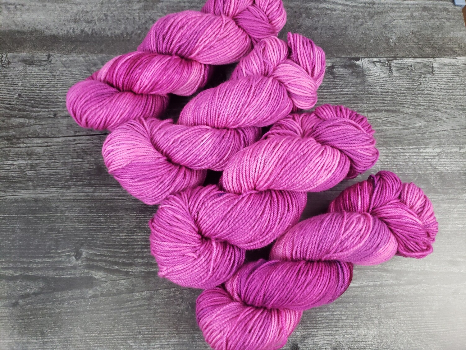 Berry Hand Dyed Yarn