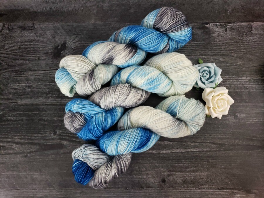 Wonderland Hand Dyed Yarn