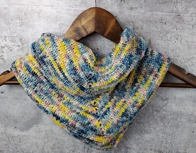 April Showers Shawl Crochet Kit Ready to Ship