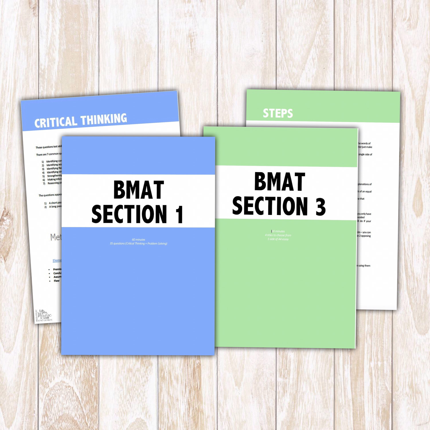 BMAT Notes | Section 1 & 3 Tips & Strategies
