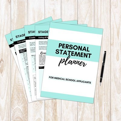 Medicine Personal Statement Planner   Writing Guide