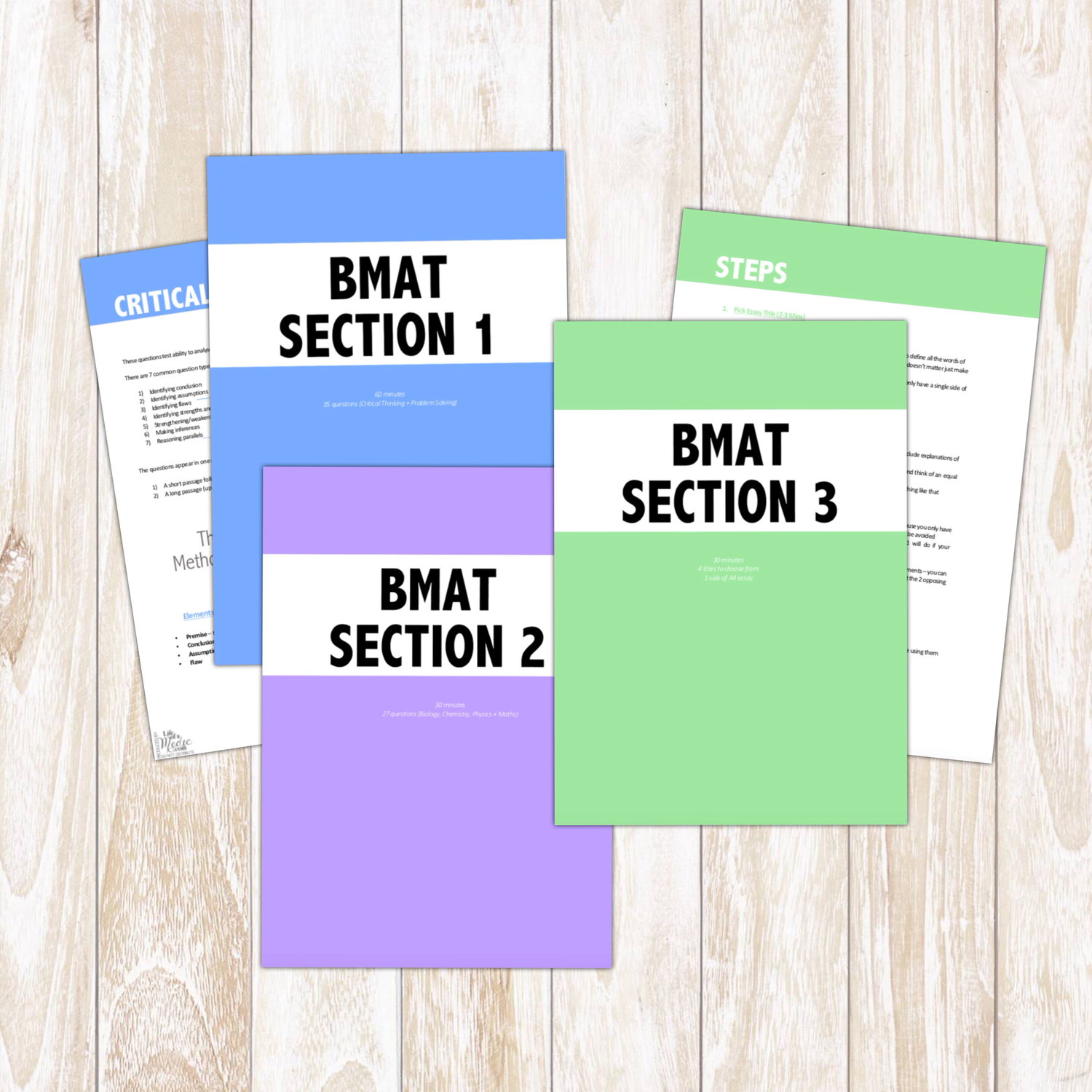 BMAT Notes - Tips & Strategies