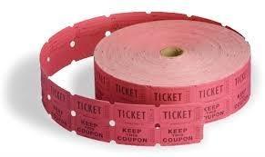 1 raffle ticket 00000