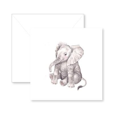 Baby Ellie Greeting Card