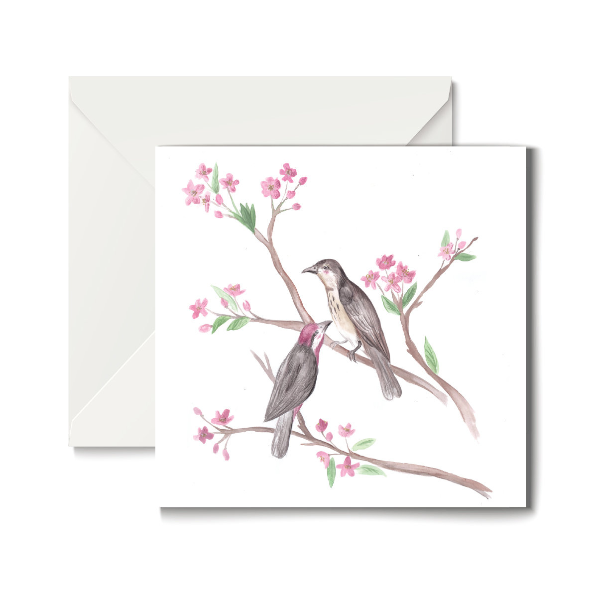 Birds of a Feather Greeting card 00015