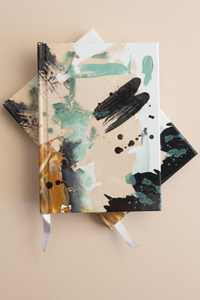 Painted Hardcover Notebook 00050