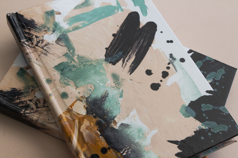 Painted Hardcover Notebook