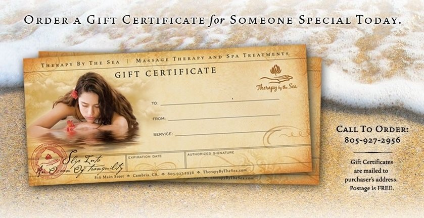 GIFT CERTIFICATE 00000