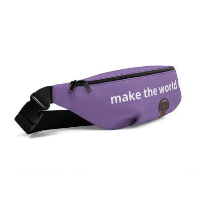make the world happy Fanny Pack
