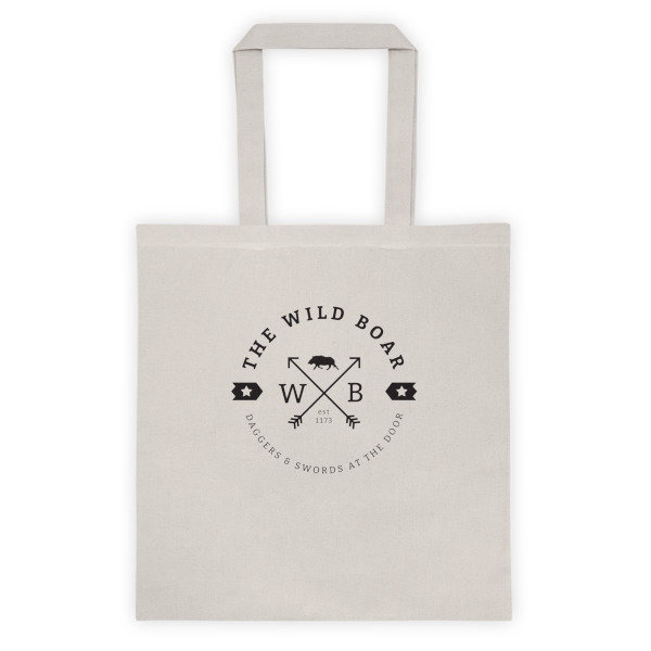 The Wild Boar Tote Bag