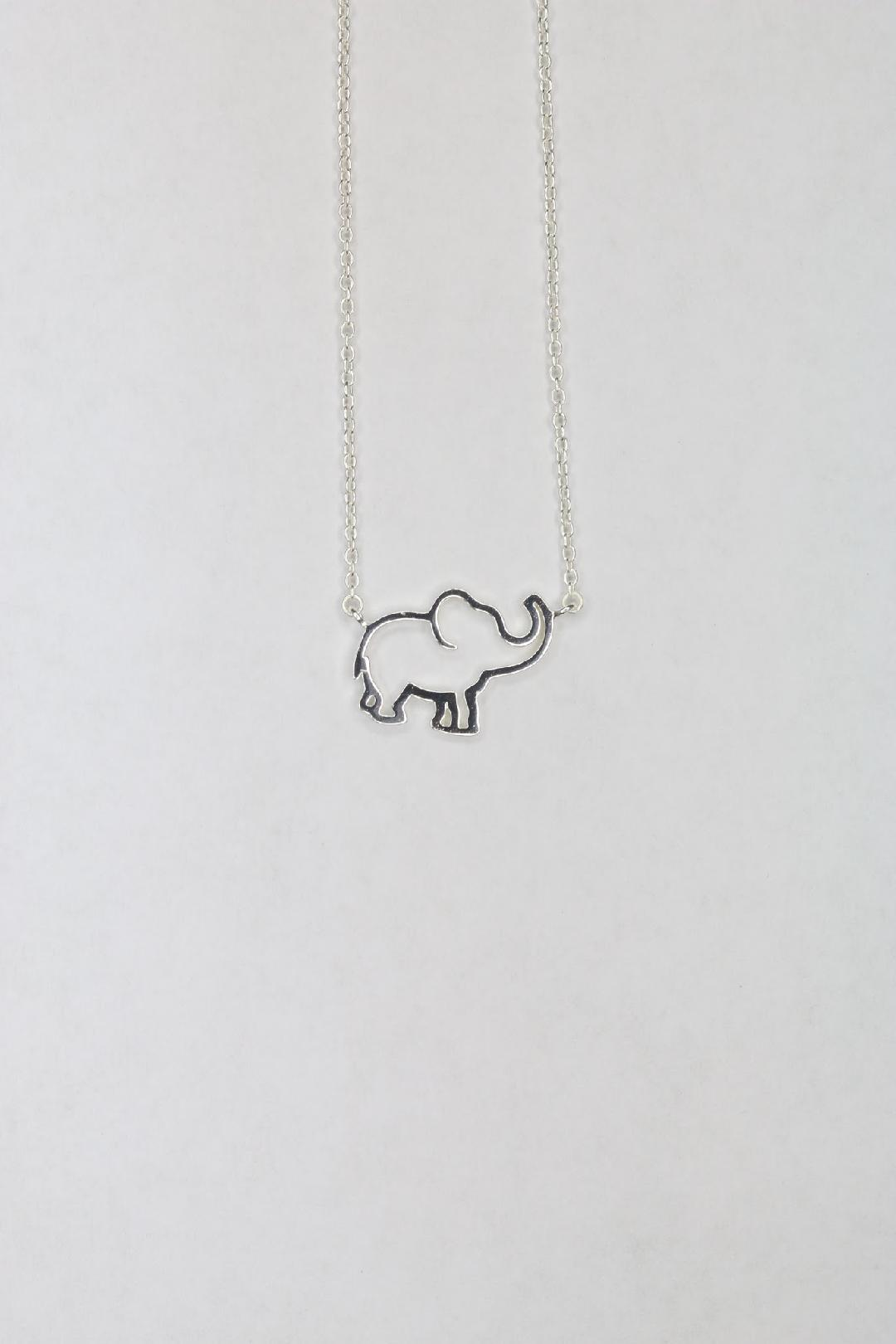 Sterling Elephant Necklace - #1 in Essence 00066