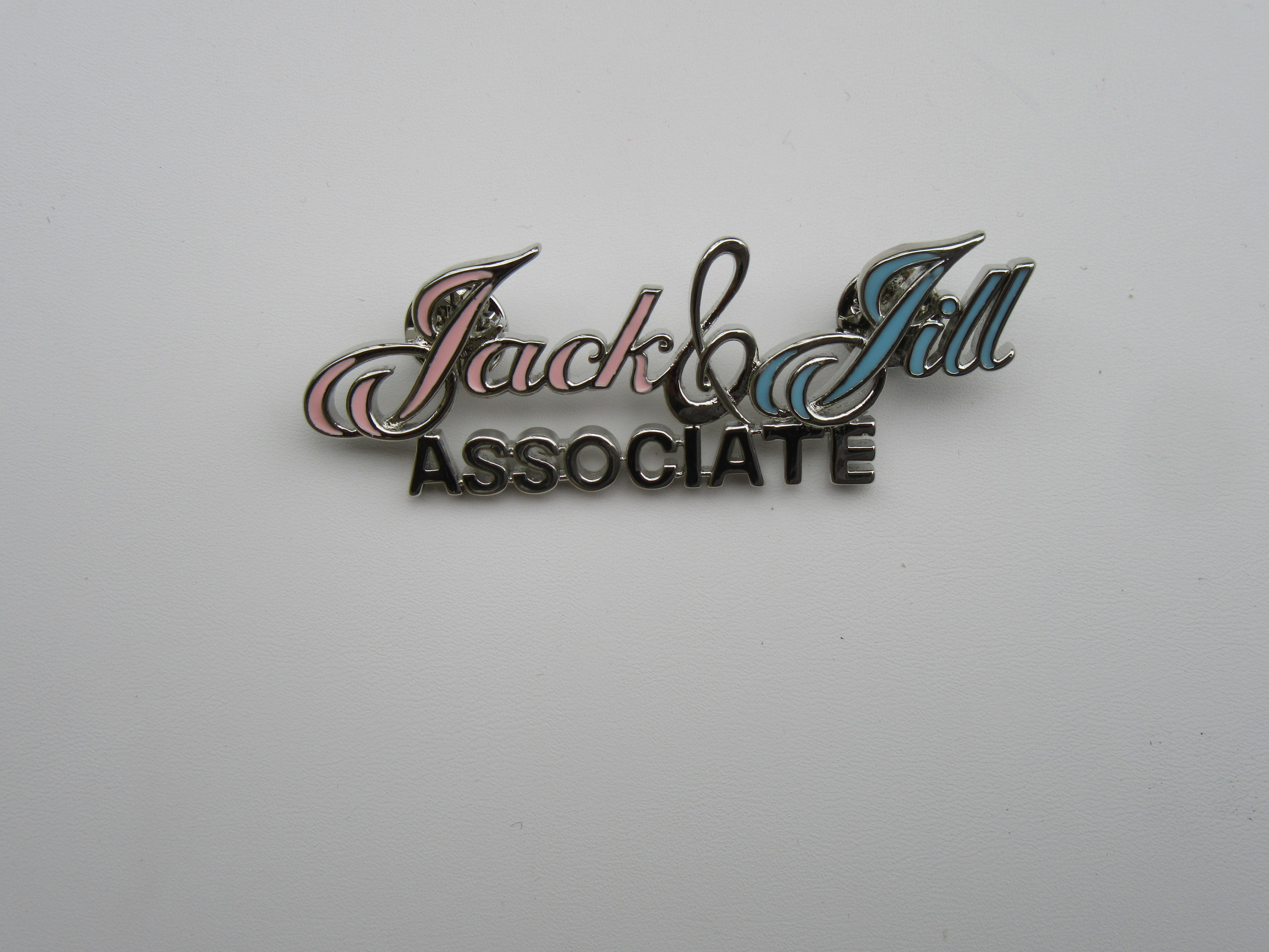 New ! Jack & Jill Associate Pin 00081