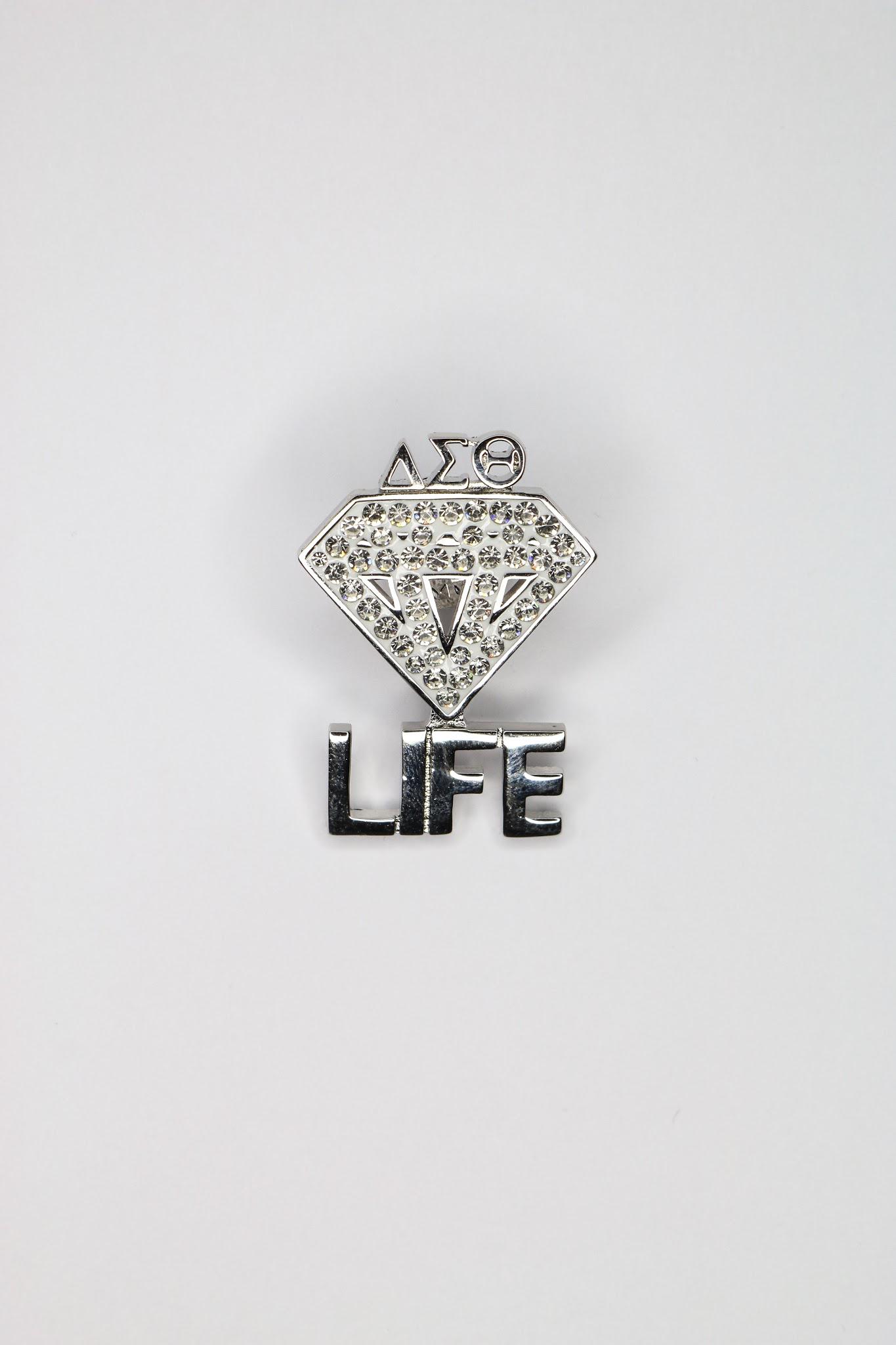 Diamond Life Brooch Pin 00010
