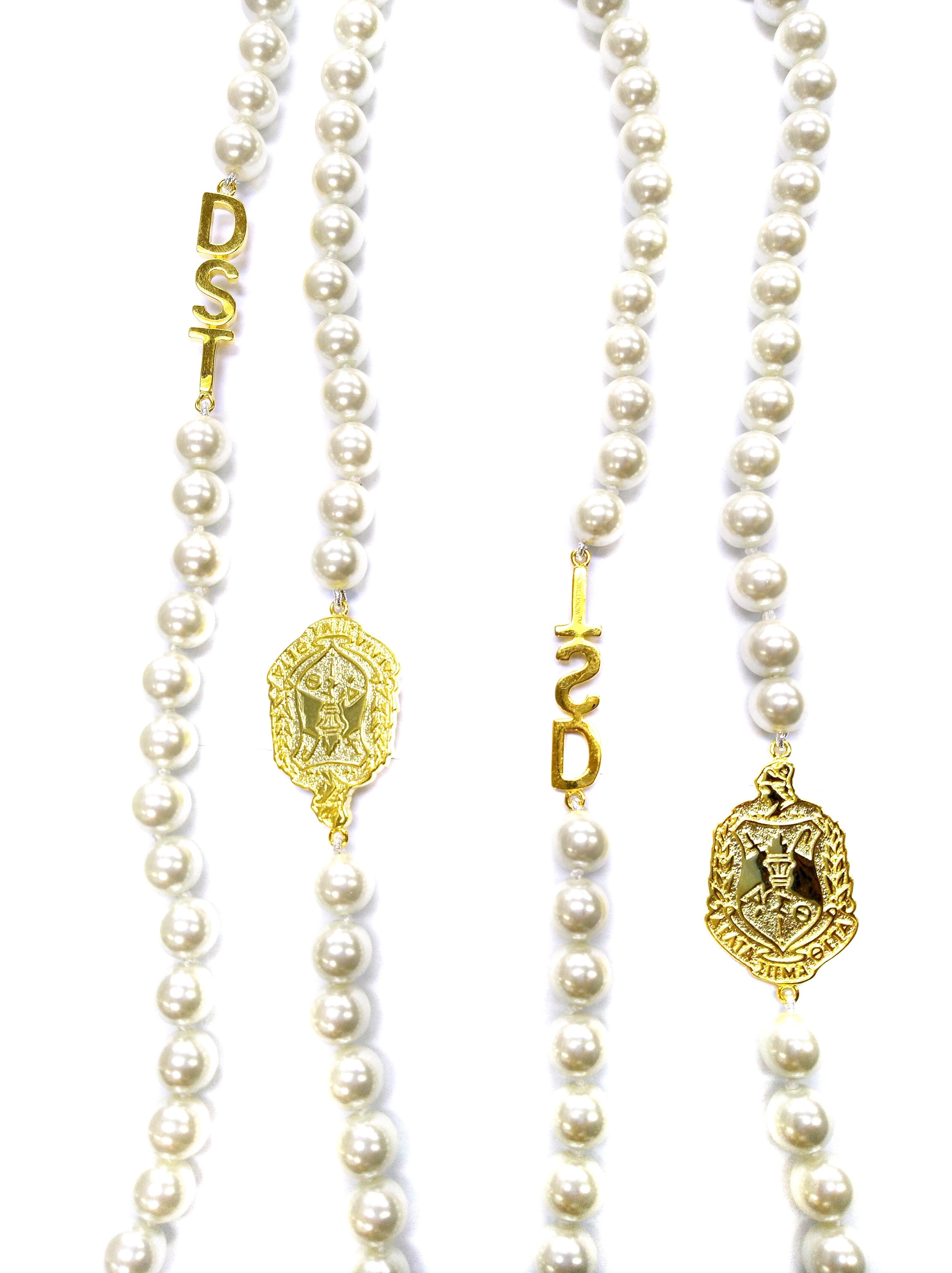 Gold DST Designer Like Pearls 00092