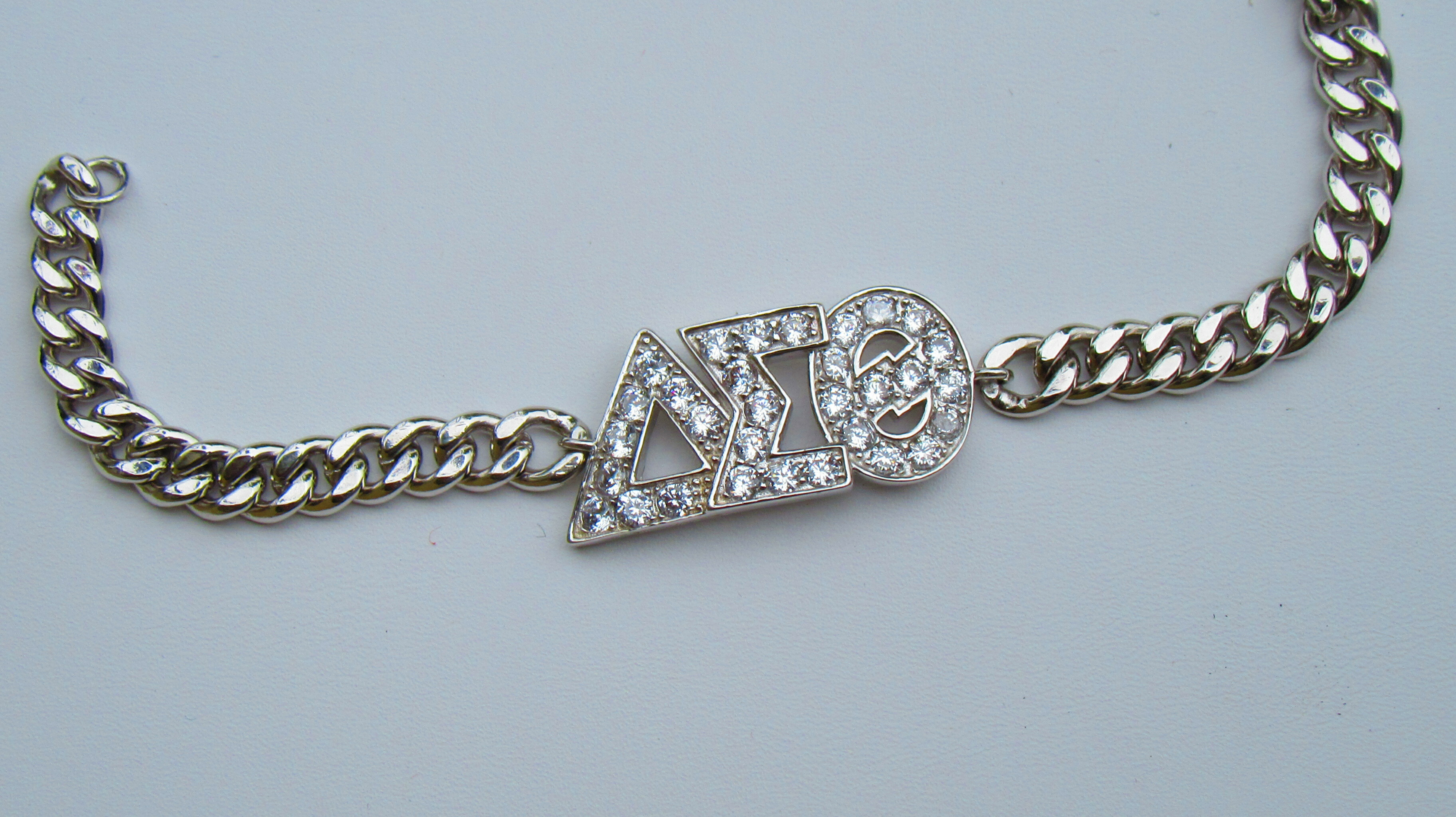 DST Cuban Sterling Link Bracelet - Longer 00107