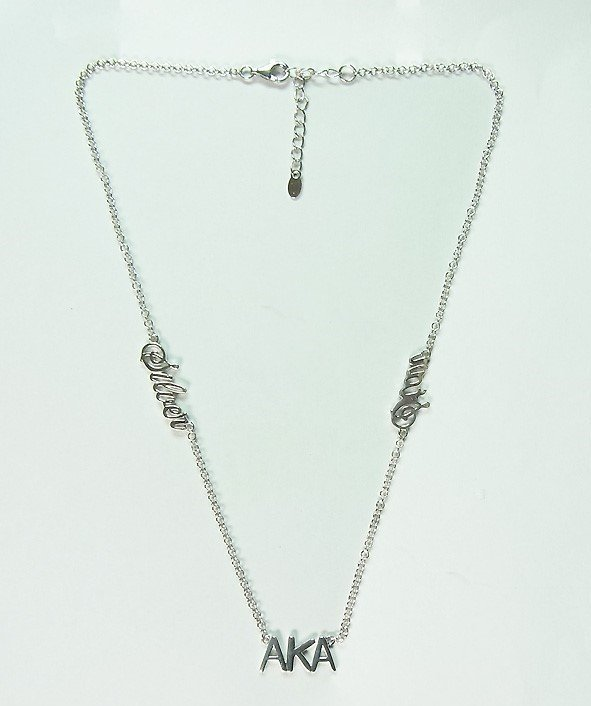 Sterling Silver Silver Star AKA Necklace 00029
