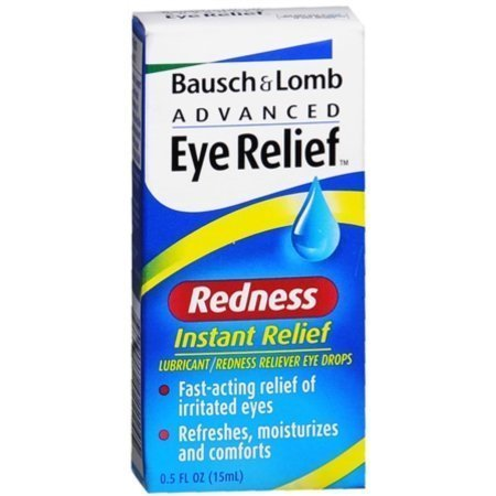 Bausch & Lomb Advanced Eye Relief Redness Instant Relief Eye Drops 0.50 oz