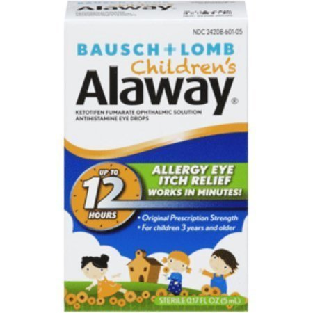 Bausch + Lomb Alaway Solution Eye Drops for Children 0.17 oz