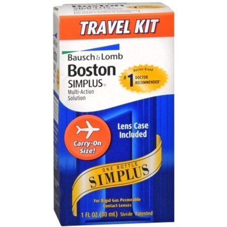 Bausch & Lomb Boston Simplus Multi-Action Solution Travel Kit