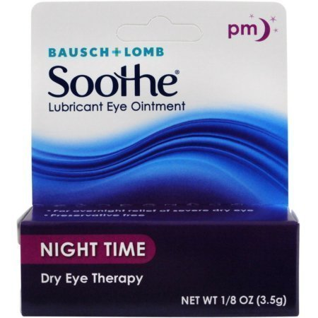 Bausch & Lomb Soothe Lubricant Eye Ointment Night Time 3.50 g
