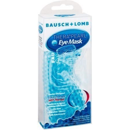 Bausch & Lomb Therapearl Cold & Hot Eye Mask