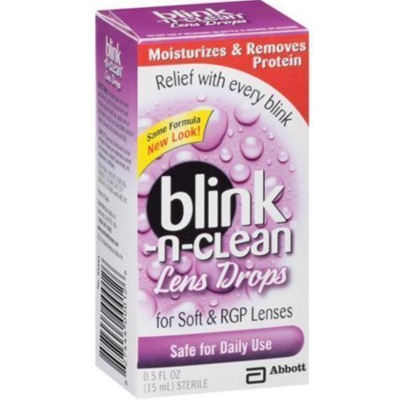 Blink-N-Clean Lens Drops 15 ML