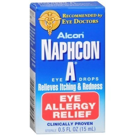 Naphcon A Eye Drops 15 mL