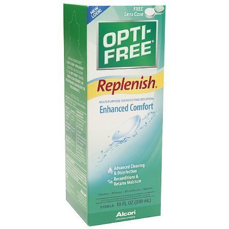 OPTI-FREE Replenish Multi-Purpose Disinfecting Solution 10 oz