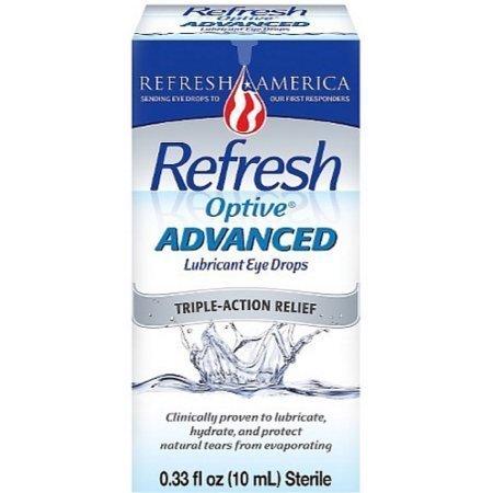 REFRESH Optive Advanced Lubricant Eye Drops 10 ml