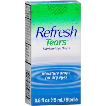REFRESH TEARS Lubricant Eye Drops 0.50 oz