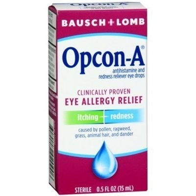 Bausch & Lomb Opcon-A Eye Drops 0.50 oz