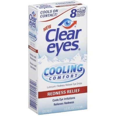 Clear Eyes Cooling Comfort Redness Relief Eye Drops 0.50 oz