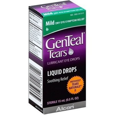 GenTeal Tears Lubricant Eye Drops 0.50 oz