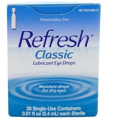 REFRESH Classic Lubricant Eye Drops Single-Use Containers 30 Each