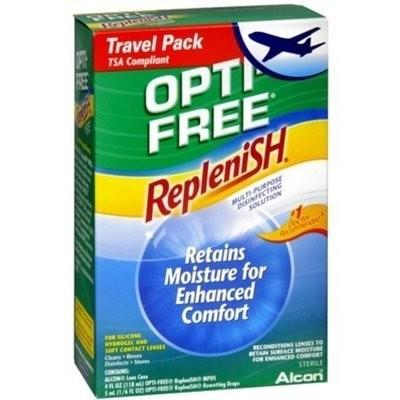 OPTI-FREE Replenish Multi-Purpose Disinfecting Solution Travel Pack