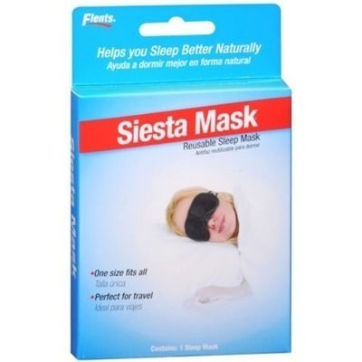 Flents Siesta Mask Reusable Sleep Mask