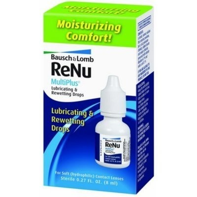 Bausch & Lomb ReNu MultiPlus Lubricating and Rewetting Drops 0.27 oz