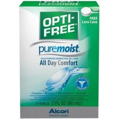 OPTI-FREE Pure Moist Multi-Purpose Disinfecting Solution 2 oz