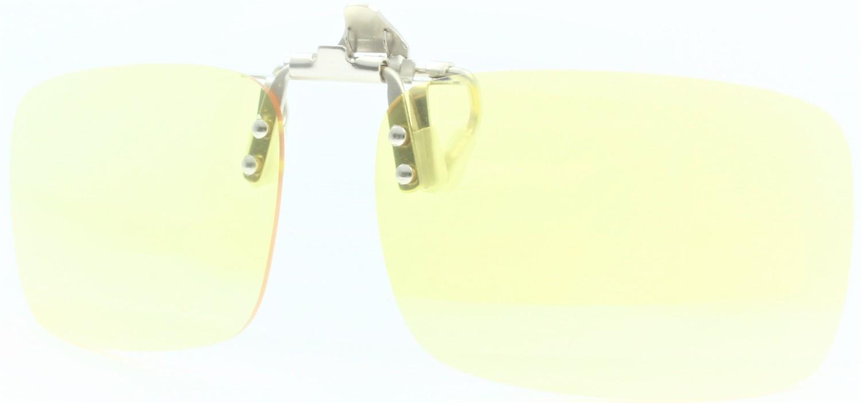 OcuGuard Ultra Lightweight Blue Light Blocking Clip-on Computer Glasses