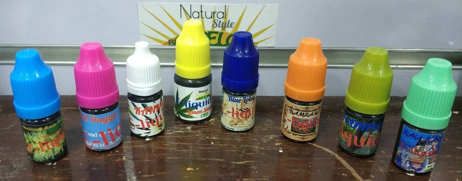 NEW Herbal E-liquids Collection 8 FLAVOURS