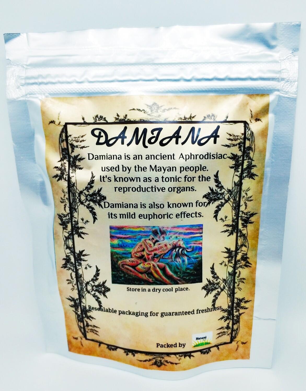 Damiana Cut Leaves - Herbal Tea & Smoking Tobacco Replacement Herb