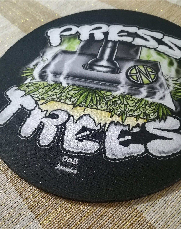 Press Tree Dab Mat