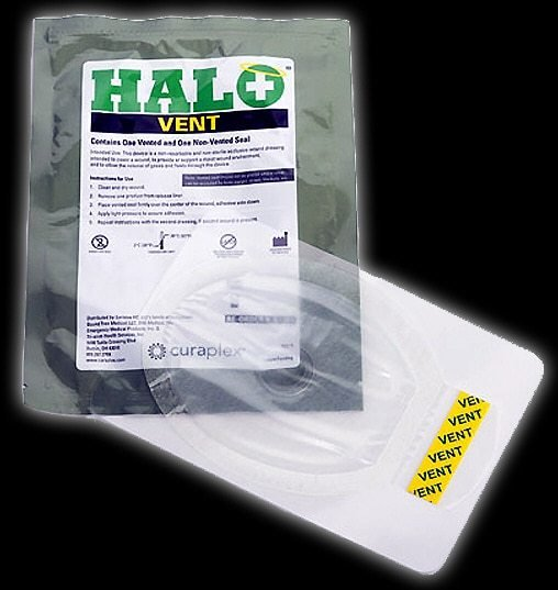 HALO Chest Seal (Vented 2 Pk)