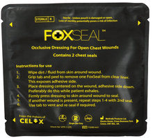 FoxSeal Chest Seal (Non-Vented)