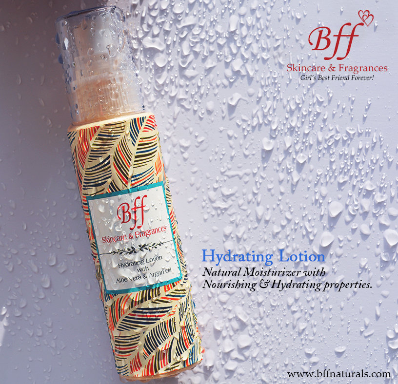 Hydrating Lotion with Aloe Vera Gel & Moroccan Argan Oil, for Daily Moisturizing & Nourishment. 100 Milliliters.