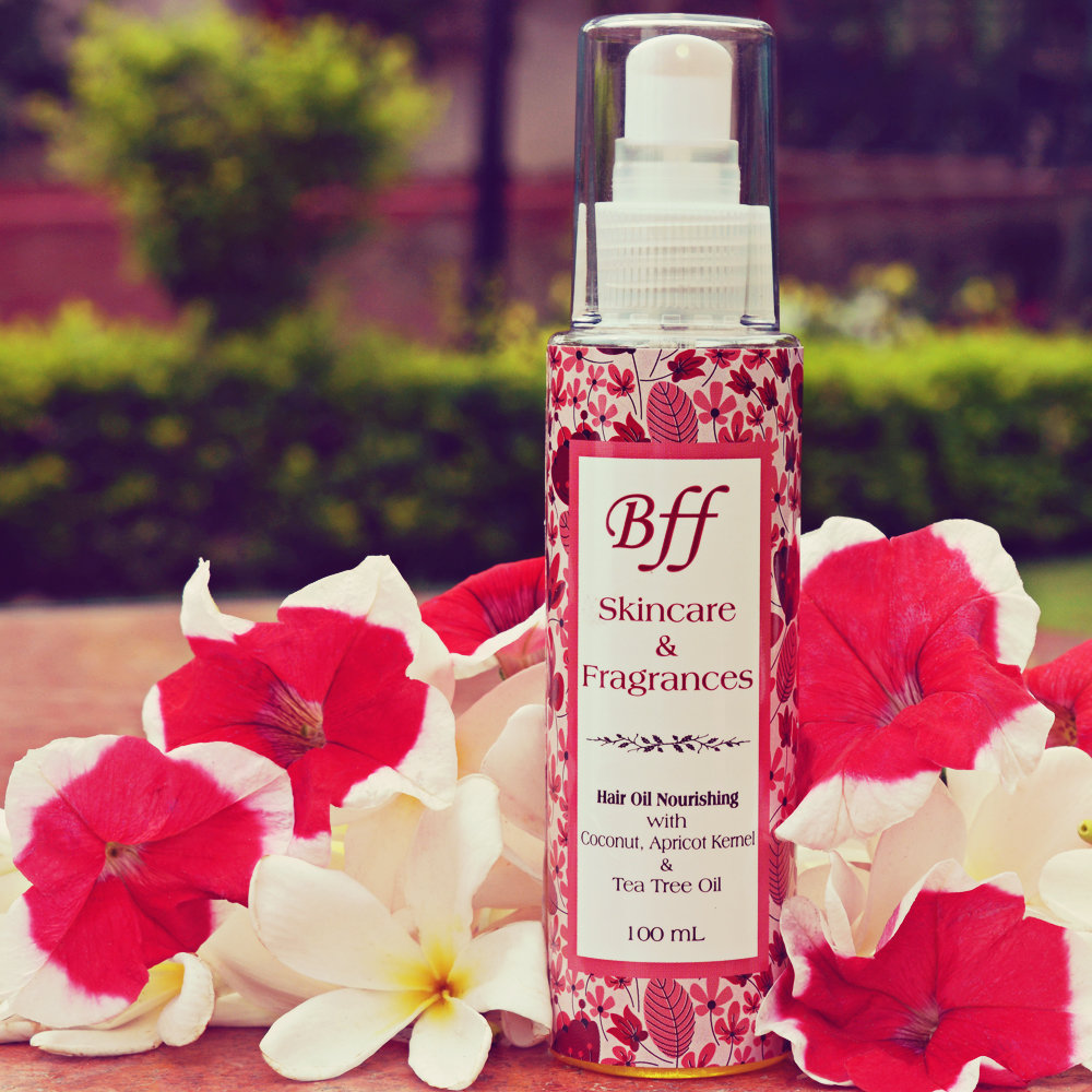 Nourishing Hair Oil with Coconut Oil & Tea tree Oil for Hair Fall Control, Dandruff & Itchiness. 100 ml.