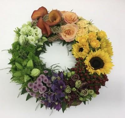 Wreath Ring Modern
