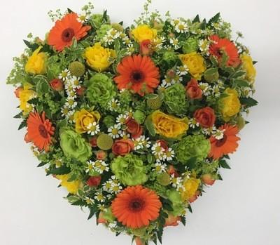 Loose Flower Heart Tribute