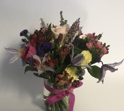 Jam Jar of Flowers